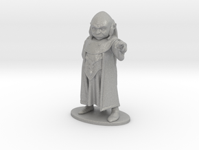Dungeon Master Miniature in Raw Aluminum: 1:55