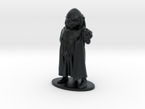 Dungeon Master Miniature in Black Hi-Def Acrylate: 1:55