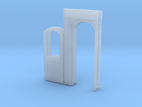 Bidwell vestibule door 2x in Smoothest Fine Detail Plastic