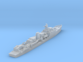 HMS Exmouth F84 in Smooth Fine Detail Plastic: 1:1200