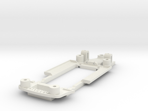 Chassis for Fly Porsche 911 (935) in White Natural Versatile Plastic