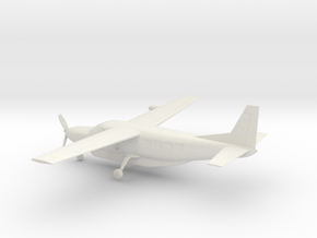 Cessna 208B Grand Caravan in White Natural Versatile Plastic: 1:72