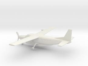 Cessna 208B Grand Caravan in White Natural Versatile Plastic: 1:200