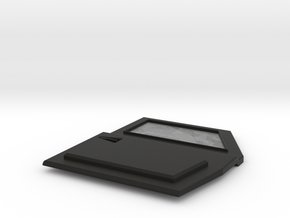 TRX-4 Tactical Front Right Door no logo in Black Premium Versatile Plastic