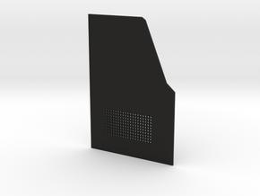 TRX-4 Rear door driver side v1 in Black Premium Versatile Plastic