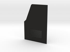 TRX-4 Read door passenger side v1 in Black Premium Versatile Plastic