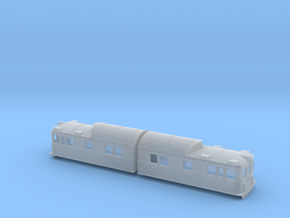 Swedish SJ electric locomotive type Oa in Smooth Fine Detail Plastic