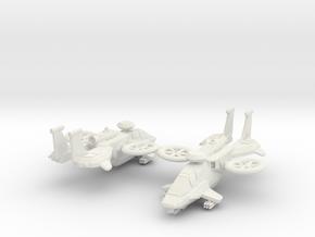 15mm ARVX-1B Arapaho (LAGM) x2 in White Natural Versatile Plastic