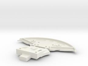 SUPPORT GLA MC LAREN 12C ABS in White Natural Versatile Plastic