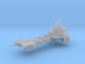 Evil Battle Barge in Smoothest Fine Detail Plastic