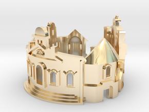 Williamsburg Ring - Architect Jewelry in 14K Yellow Gold: 6 / 51.5