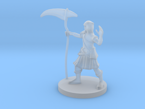 Human Death Cleric in Smooth Fine Detail Plastic