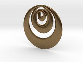 Mobius X in Natural Bronze
