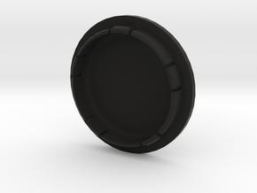 VW FELGENDECKEL_2 indiv. bis 3 Zeichen beschreibar in Black Natural Versatile Plastic