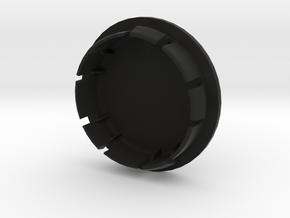 FELGENDECKEL_1 indiv. bis 12 Zeichen beschreibbar in Black Natural Versatile Plastic