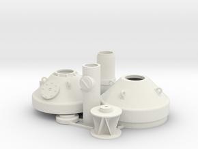 Leuchttonne / Buoy 1:50 in White Natural Versatile Plastic