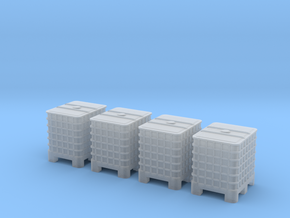 HO 4x IBC in Smooth Fine Detail Plastic