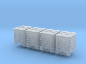 1:144 IBC 4pc in Smooth Fine Detail Plastic