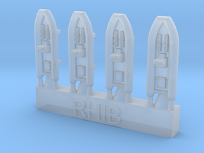 1:600 RHIBs  in Smoothest Fine Detail Plastic