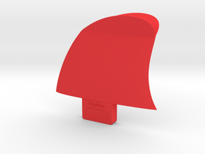 "TinyFins Split Y 2"" fc in Red Strong & Flexible Polished"