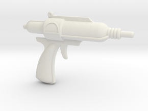 Man of Mystery Electron Pistol in White Natural Versatile Plastic