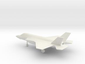 Lockheed Martin F-35B Lightning II in White Natural Versatile Plastic: 1:144
