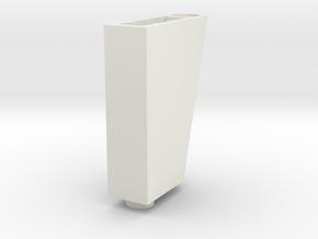 LEGO RUDDER BLOC 2 in White Premium Versatile Plastic