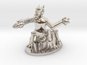 Vrusk Battle Armor in Platinum