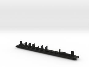 Inneneinrichtung Buffetwagen Transalpin Scale N in Black Natural Versatile Plastic