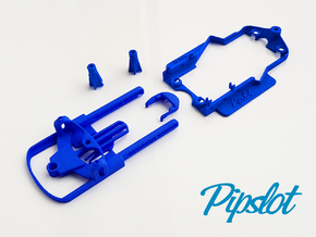 Universal Pipchassis SL Mk2 in White Natural Versatile Plastic