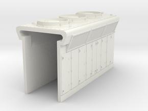 DDm45 Radiators S scale in White Natural Versatile Plastic