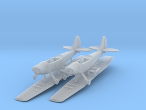 Cessna Bird Dog O-1 1/144 or 1/200 in Smooth Fine Detail Plastic: 1:200