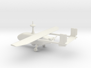 Pegasus II - UAV (bigger version) in White Natural Versatile Plastic