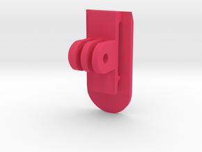GoPro MOLLE Mount (Forward Tilting) in Pink Processed Versatile Plastic