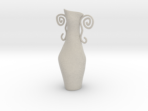Surreal Vase in Natural Sandstone