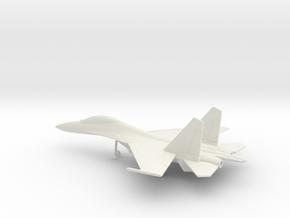 Sukhoi Su-30 Flanker-C in White Natural Versatile Plastic: 1:200