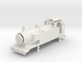 10mm - LB&SCR E2  -  EXTENDED TANKS in White Natural Versatile Plastic
