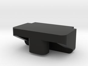 IMPRIMO - CF Version (Printable Battery Clip) in Black Natural Versatile Plastic