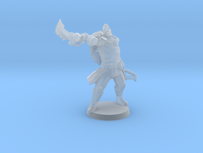 Space Pirate in Smooth Fine Detail Plastic