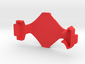 IMPRIMO - CF Version (Printable Canopy Type C) in Red Processed Versatile Plastic