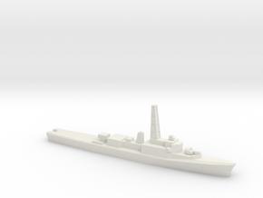 Restigouche-class DDE (DELEX), 1/1250 in White Natural Versatile Plastic