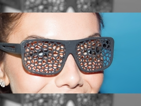 FABSHADES - Voronoi edition in Black Premium Strong & Flexible