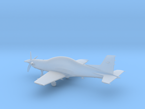 PC-21 Turboprop 10cm highly detailed in Smooth Fine Detail Plastic