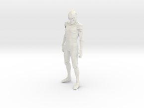 Printle V Homme 1339 - 1/28 - wob in White Natural Versatile Plastic