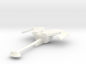 D-18A Gull Destroyer in White Processed Versatile Plastic