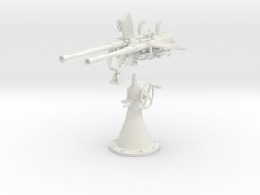 1/16 DKM Double 20mm C/30 Flak Kit in White Natural Versatile Plastic