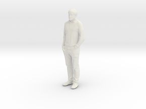 Printle C Homme 225 - 1/32 - wob in White Natural Versatile Plastic