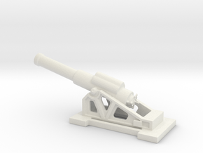 Obice 305 17 modello 16  ww1 1/100 artillery  in White Natural Versatile Plastic