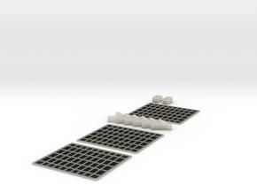 Space Station Basic Kit1 Solarpanle Kit in Transparent Acrylic