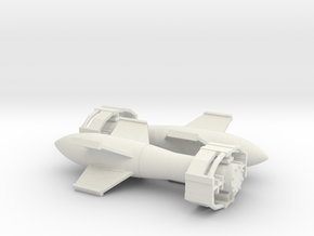 Fritz X glide bomb in White Natural Versatile Plastic: 1:64 - S
